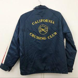 Vintage California Cruising Club Windbreaker - M